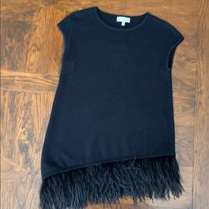 Neiman Marcus | Cashmere feather top